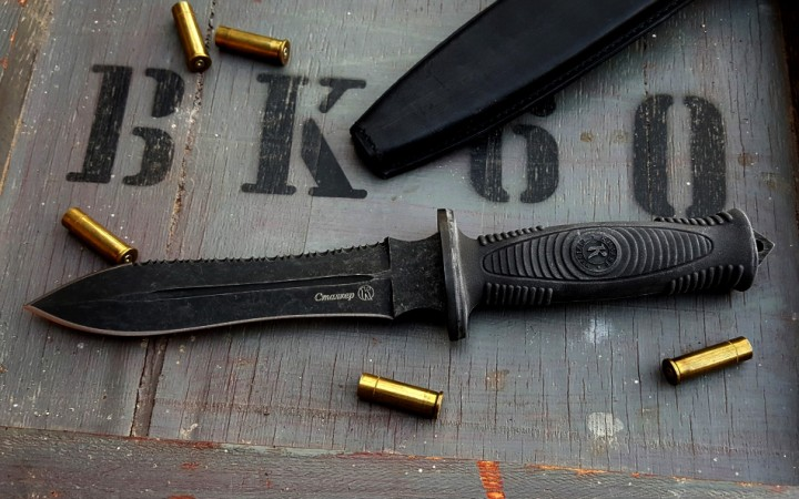Sztalker Combat black line SERRATED